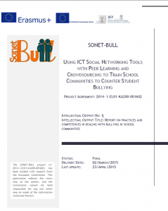 Intelectual Output No 1: Report on practices and competences in
