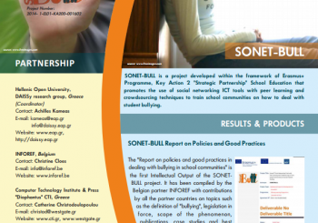 The 2nd Newsletter of the SONET-BULL Project